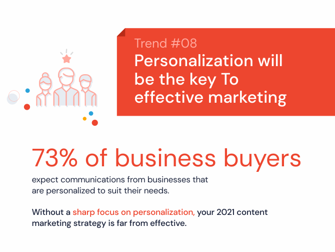Content personalization will be the key to effective marketing
