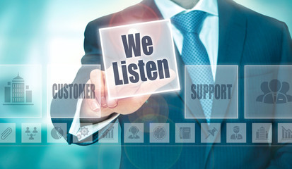 customer feedback and interaction online